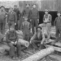 Saw Mill Workers
