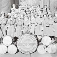 Girl Scouts drum and bugle corps